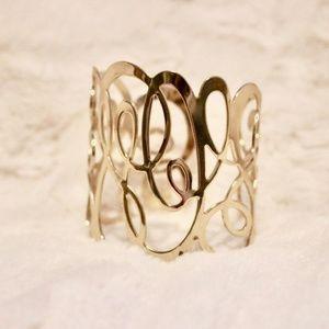 H&M Gold Cuff Bracelet